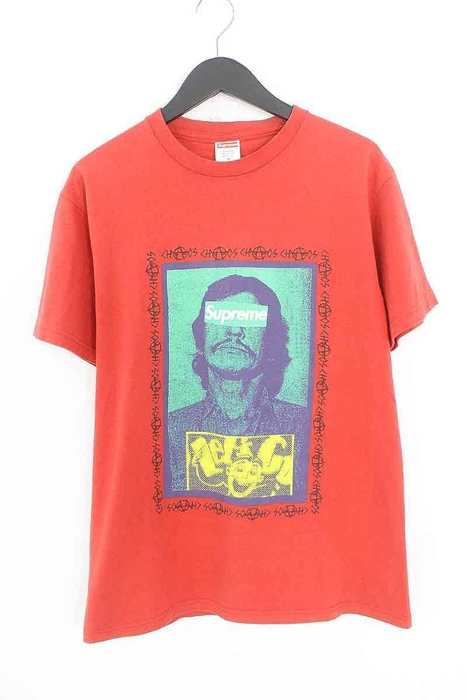 (シュプリーム) SUPREME 【08AW】【Bronson Tee】ブロンソンボックスロゴTシャツ(M/レッド) 中古 B07FG1PW3L  -
