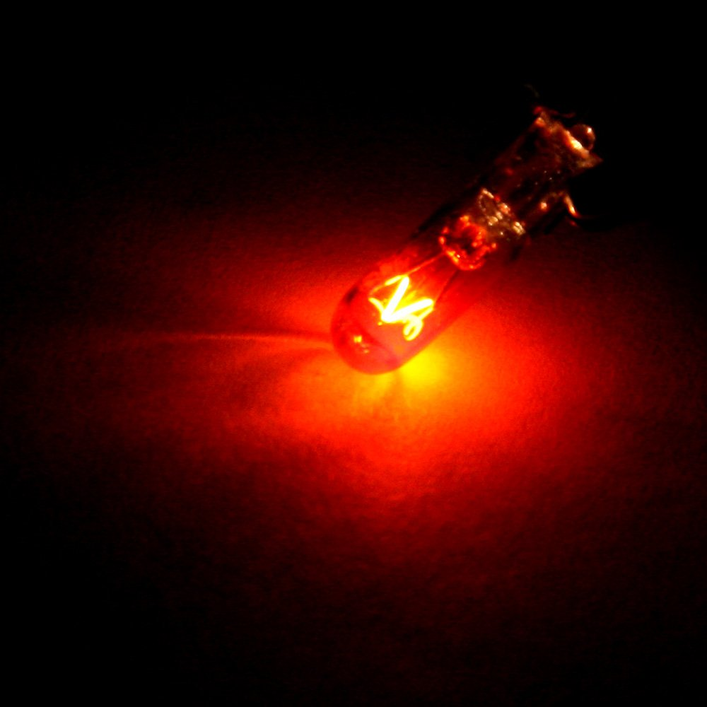 cciyu T5 Halogen Light 37 74 Light Bulb Instrument Dashboard Gauge Cluster Incandescent Light with Twist Lock Sockets 992034-5210-1717122313