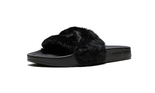 8d313c33c52b Image Unavailable. Image not available for. Colour  Fenty Puma Puma X  Rihanna LeadCat Fur Slides ...