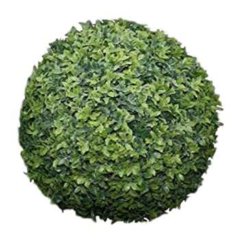 Attrayant UK Gardens Artificial Topiary Balls   Large 30cm Green Hanging Artificial  Buxus Boxwood Topiary Balls
