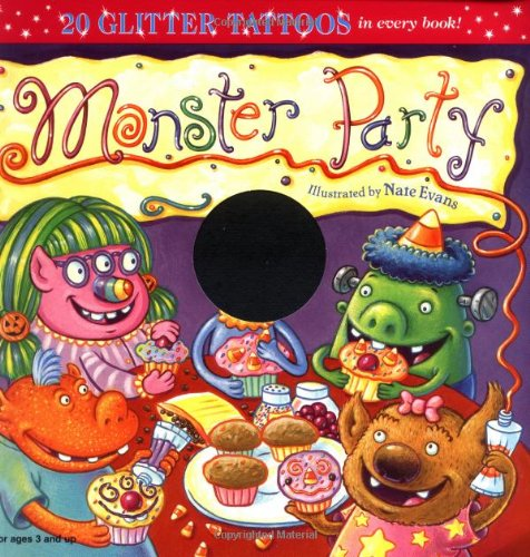 Monster Party (Glitter Tattoos) -