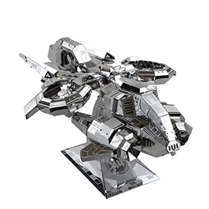 Amazon.com: Mu 3d metal – Puzzle Terran Banshee thunderhawk ...