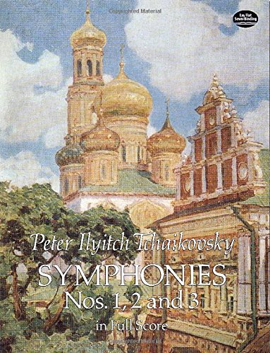 Symphonies Nos. 1, 2 and 3 in Full Score (Dover Music Scores) (Tchaikovsky Symphony 6 Score compare prices)