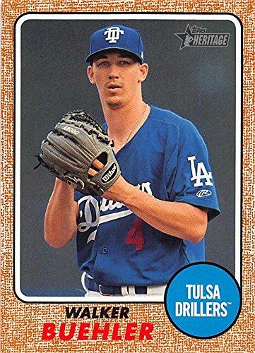 c1231640 Walker Buehler Baseball Card (Tulsa Drillers, Los Angeles Dodgers ...