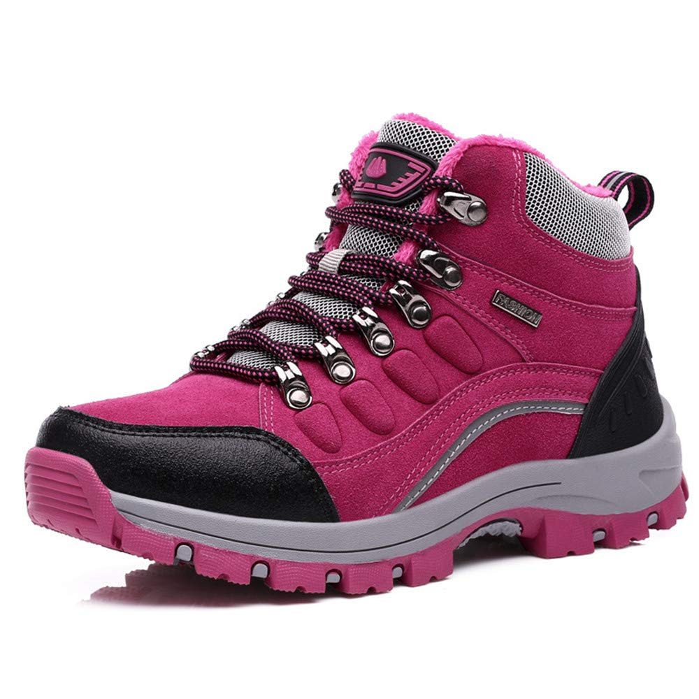 ee8508da48f pink Women Boot Trekking Athletic Lightweight Sneakers Resistant ...