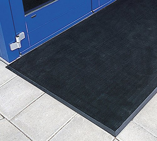 American Floor Mats Pronged Rubber Black 3' x 5' Heavy Duty 1/2 inch Thickness Scraper Mat by American Floor Mats (Image #2)