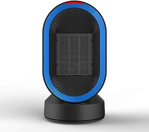 J.SD Calefactor eléctrico Ventilador 600W Mini Moda Escritorio ...