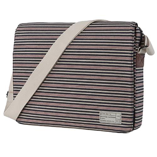 Manhattan PortageのPixel NY Messenger Bag JRは、女性の利用者も多い人気のメッセンジャーバッグ。人気モデルをベースに、カメラなどの精密機器の収納に適した内容に改良された。サイズには、カメラの周辺機器を収納できるポケットも付属している。
