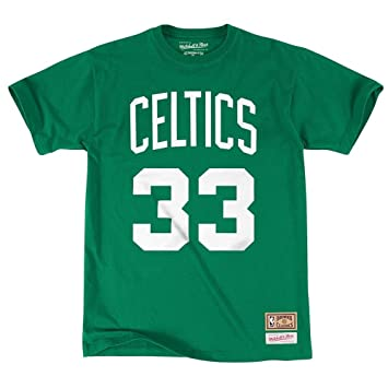 Mitchell & Ness – Camiseta de Larry Bird, nú