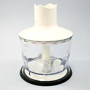 Contenedor 5000completo, 500 ml, Braun Multiquick 5, Minipimer 5Multiquick 7, Minipimer 7, Professional, Multiquick