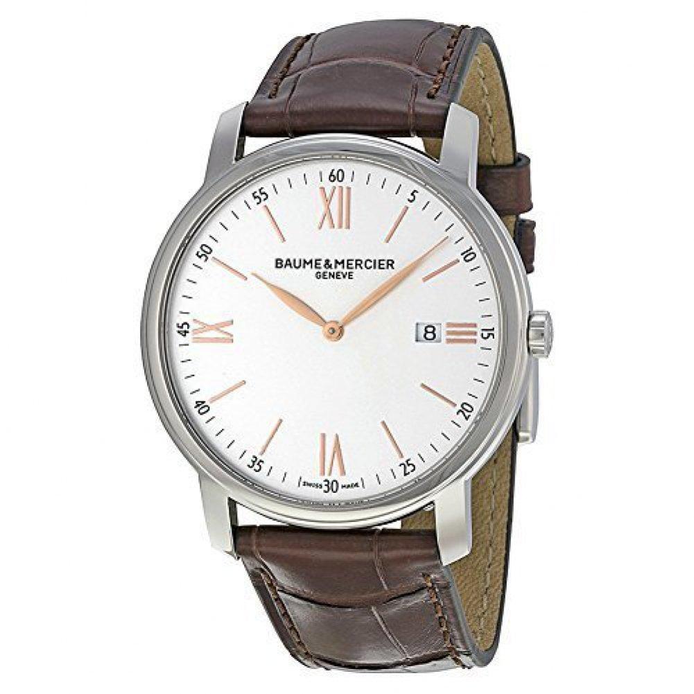 [ボーム&メルシエ]Baume & Mercier 腕時計 Classima Analog Display Quartz Brown Watch BMMOA10144 メンズ [並行輸入品] B01B0VV09W