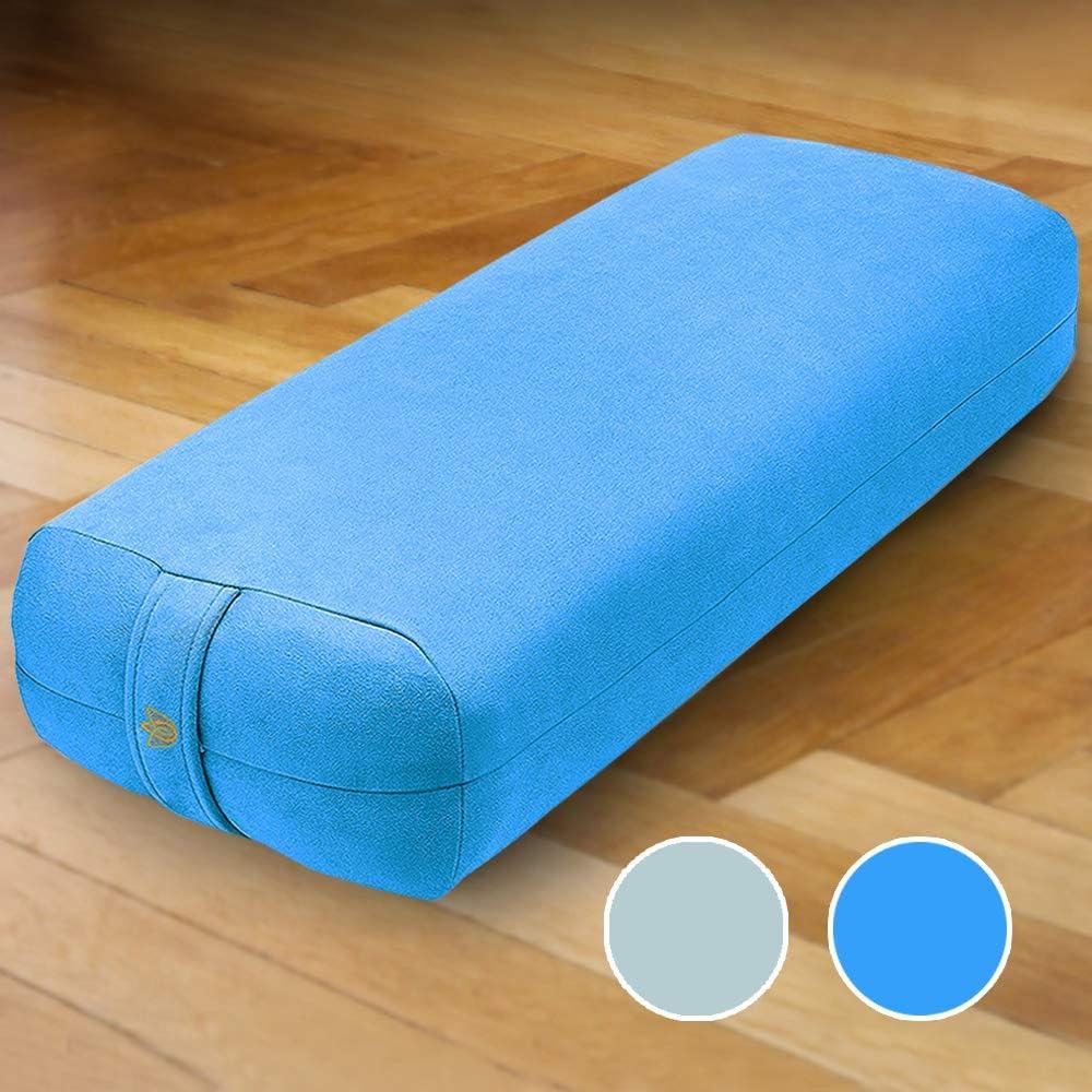 Amazon Com Florensi Yoga Bolster 26 X11 X7 Premium Velvet Bolster Pillow Large Rectangle Yoga Bolsters And Cushions Bolster Pillow Yoga Yoga Bolster Pillow Bolster Yoga Pillow Blue Sports Outdoors