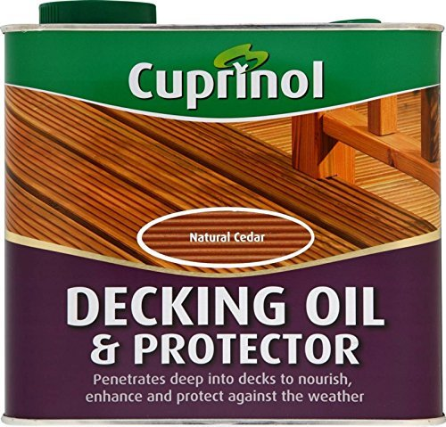 Cuprinol Decking Oil & Protector 2.5L Natural Oak by Cuprinol (Cuprinol Natural)