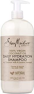 product image for Shea Moisture 100% Virgin Coconut Oil Milk Daily Hydration, Shampoo, 34 FL OZ