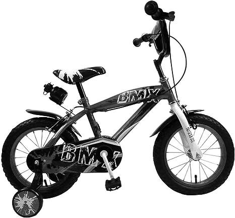 510187 Bicicleta BMX para niños tamaño 14 para edades de 3 a 6 ...