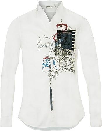 Desigual Hombre Diseñador Top Camisa Shirt Camisetas - IN ...