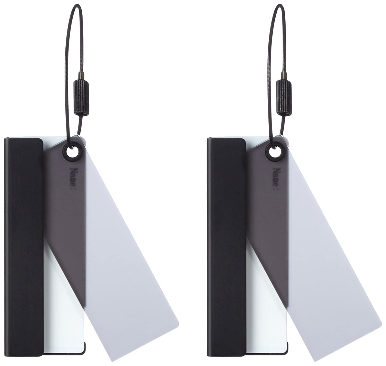 REFLECTS Etiqueta para Equipaje Gris