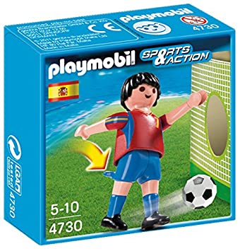 Playmobil  Sports And Action Soccer Player Spain