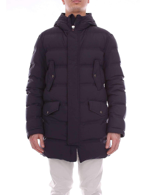 Brand Size 54 KIRED Men's REUSS68065blueeE blueee Polyamide Down Jacket