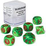 7 Blood Bowl W/ürfel Blood Bowl The Game of Fantasy Football Skaven Team W/ürfel Set