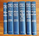 img - for JEFFERSON AND HIS TIME SIX VOLUME SET (GILT EMBOSSED ON EACH COVER COPY: