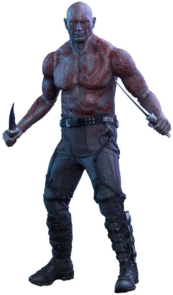 Hot Toys ht902669 Drax Spielfigur mit, der Zerstörer Figur, Maßstab 1  6