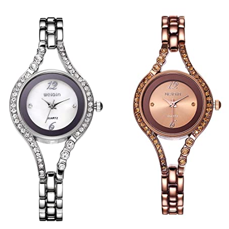 Amazon.com: Sheli Bangle Watches for Women Female Watches mujer clock Relojes: Watches