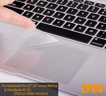 CaseBuy MacBook Air 13 Skin, Clear Matte Anti-Scratch Trackpad Protector  Cover Skin for MacBook Air 13 3