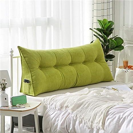 CRRQQ Cojín de cuña triangular tapizado, sofá cama Cojín ...
