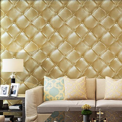 Blooming Wall 3D Faux Leather Textured Backgound Wall