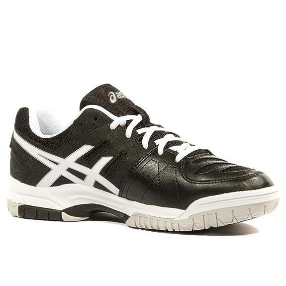 Asics Hombres Gel-Dedicate 4 Zapatillas De Tenis Zapatilla Todas Las Superficies Negro - Blanco 47: Amazon.es: Zapatos y complementos