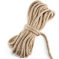 NACTECH Cuerda de Yute Gruesa y Resistente Cuerda