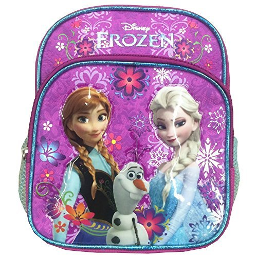 moda Disney Frozen 10 10 10 Mini Backpack with Anna, Olaf and Elsa by Disney  40% de descuento