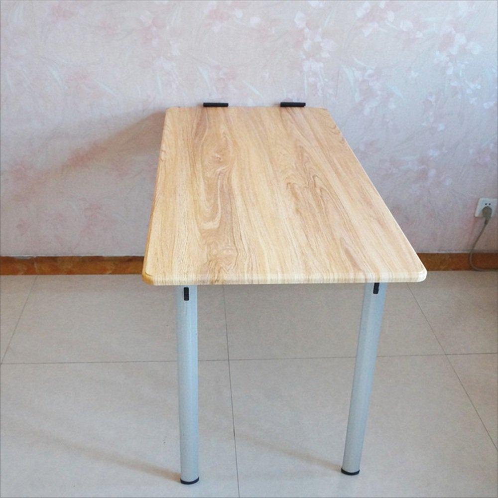 YNN 折りたたみ式壁掛けドロップリーフテーブル、木製キッチンダイニングテーブルデスク、子供用テーブル、コンピュータデスク、120×60×74cm (色 : C) B01LW4KHS2 C C