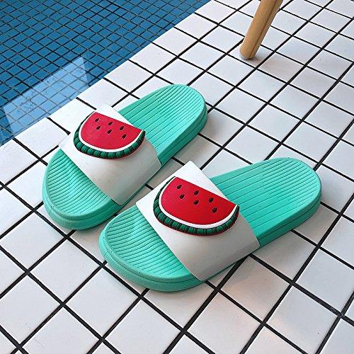 sandali e personalizzato home Estate coppie da 36 donne carino fuori terreno casa bagno home cool dentro cocomero e fankou vasca la pantofole morbido 5SHwqzq