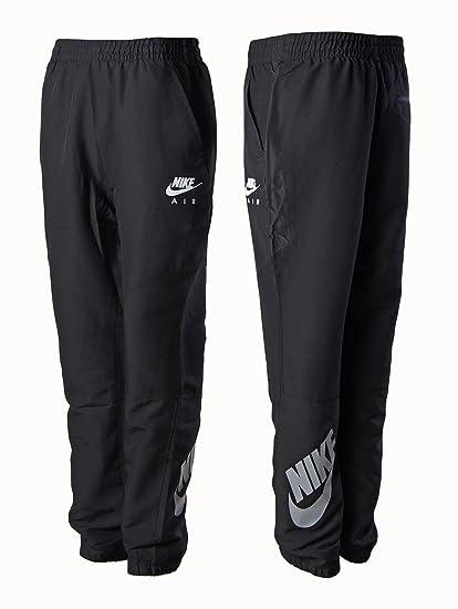 363f992081d5f2 Nike Herren Schwarz Nylon Elastisch Jogginghose Fitnessstudio Jogging  Training Hose  Amazon.de  Bekleidung