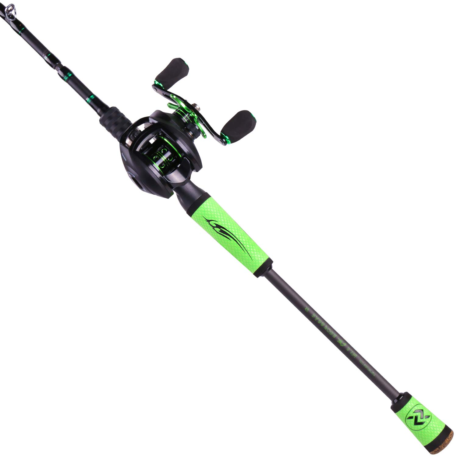 Sougayilang Speed Bass Fishing Rods Baitcasting Rod and Reel