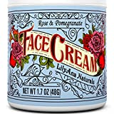 Best Face Cream for Dry Skin Face Cream Moisturizer (1.7 OZ)  Natural Anti Aging Skin Care