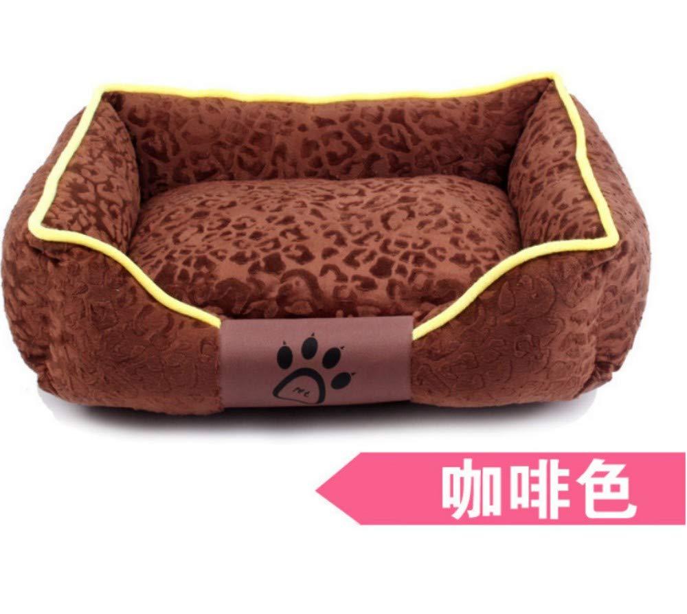 Dog House Rimovibile e Lavabile Teddy oroen Retriever Pet Nest Dog Mat Lettiera Forniture per Animali Nest L