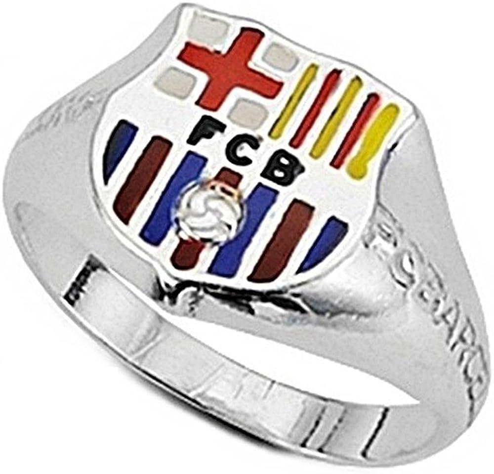 Sello escudo F.C. Barcelona Plata de ley silueta cadete [6966] - Modelo: 10-150-C: Amazon.es: Joyería