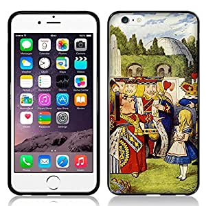 NICE CASE Alice in Wonderland Queen of Hearts TPU Rubber Back Case Cover for Apple iPhone 6 (4.7 inch) by ruishername