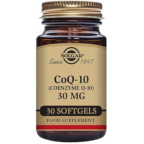 Solgar CoQ-10 (Coenzima Q-10) 30 mg Cápsulas blandas - Envase