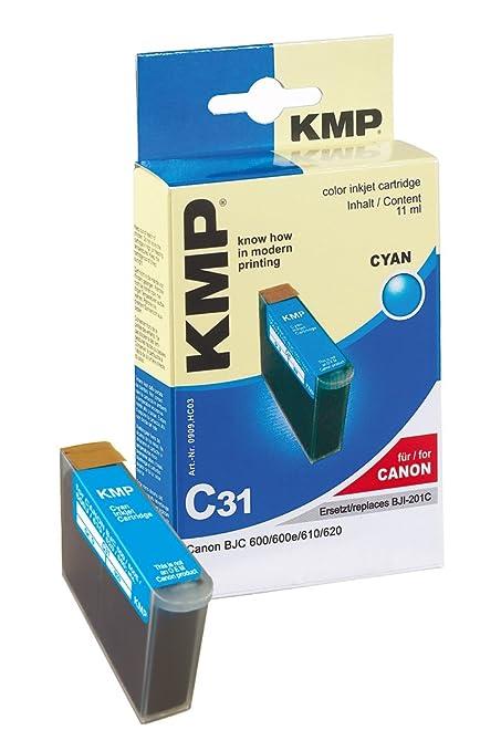KMP C31 Cian cartucho de tinta - Cartucho de tinta para impresoras ...