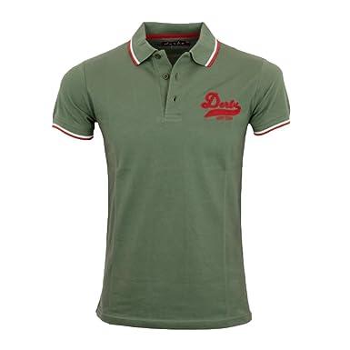 Derbe Hamburg Herren Polo Shirt College Boys oliv - XXL