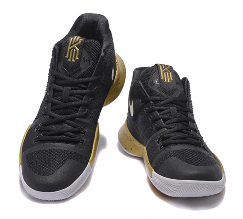 Amazon.com  Men s Kyrie Irving Shoes Kyrie 3 Basketball Shoe - Black ... bbeebe7fc8c2