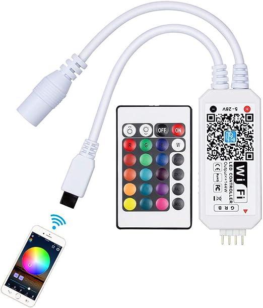 RGB RF Wireless LED Controller mit Fernbedienung für LED Streifen Licht