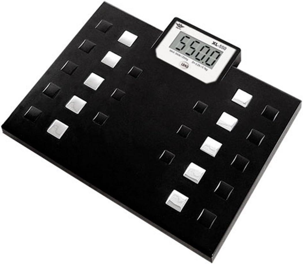 Large Big Talking 550 LB Capacity Electronic Jumbo Body Bath Bathroom Scale