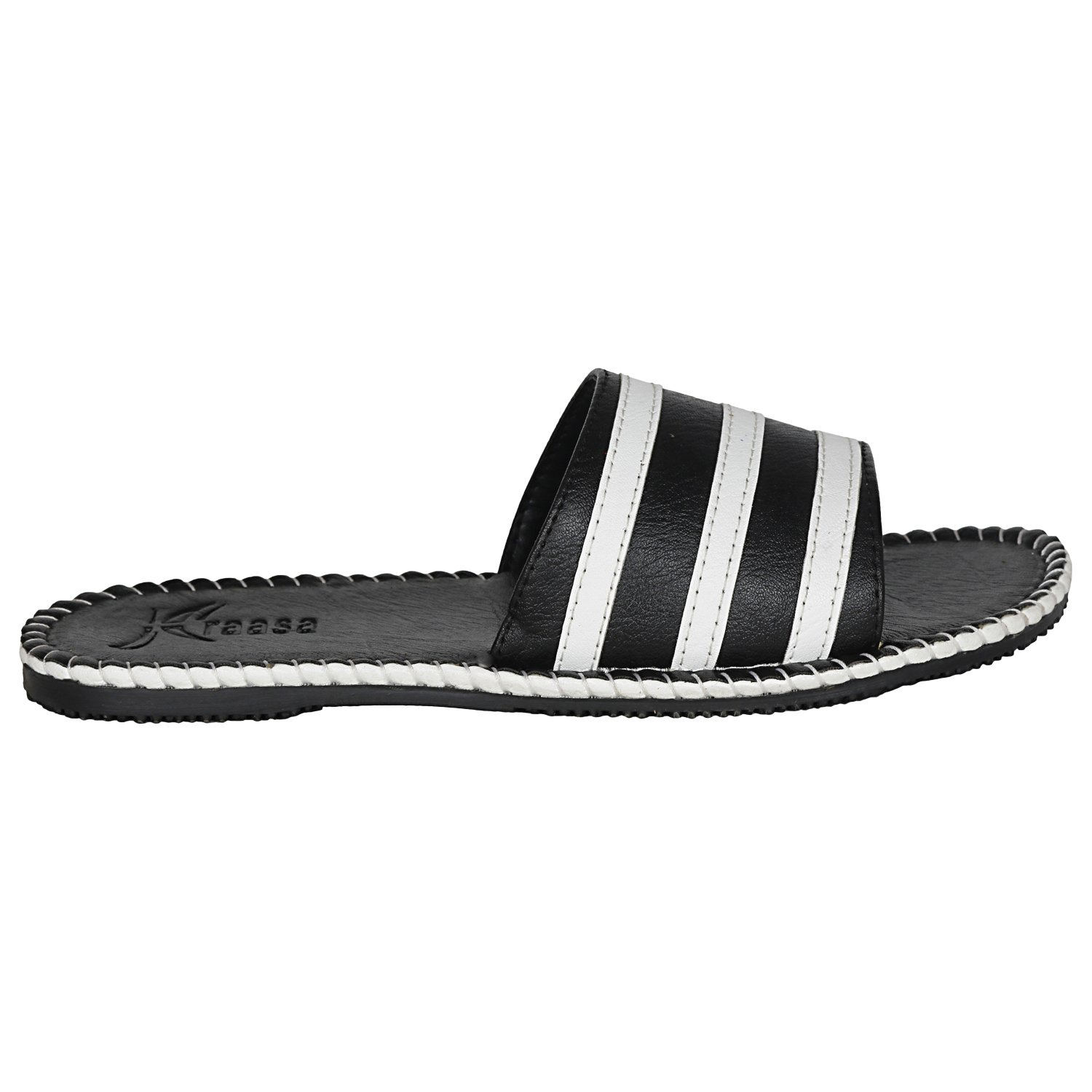 28ced5149f7c0d Kraasa Men s Synthetic Slippers  Buy Online at Low Prices in India -  Amazon.in