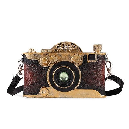 Ggoddess - Mini Modelo de cámara Retro, Escultura Vintage en ...