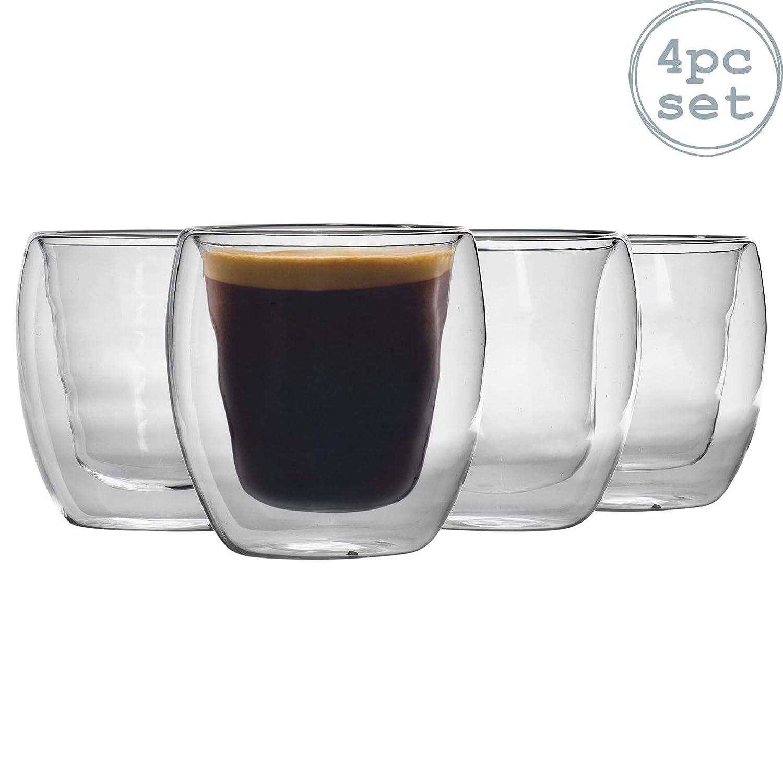 Rink Drink Vaso de café de Doble Pared - con Aislamiento térmico ...